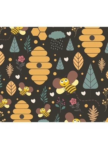 Artikel Sevimli Arılar Masa Örtüsü 140X160Cm Renkli